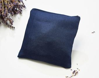 Lavender pillow blue