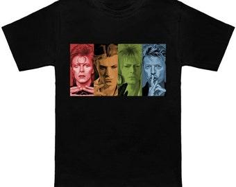 Four Faces - Bowie T-Shirt