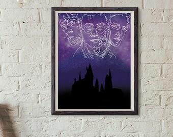 Harry Potter Digital Print