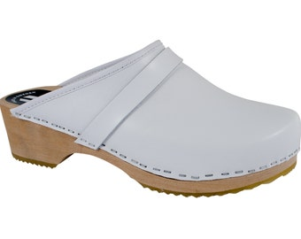 Original of Sweden clogs white clogs women's clogs of Mr. clogs MB