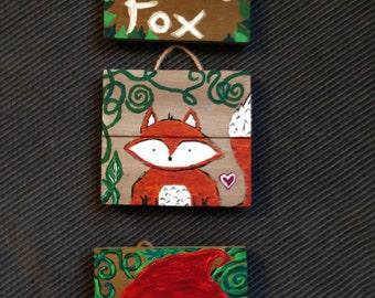 Little Fox & Little Red