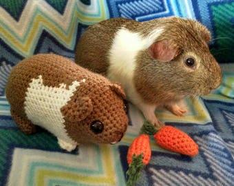 Custom Crochet Chubby Guinea Pig