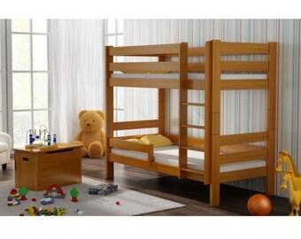 Garry bunk bed solid wood 180 x 80 cm