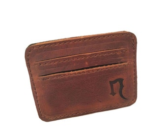 Leather Card Wallet  FREE US Shipping!