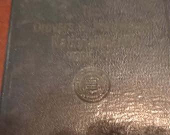 The Dovers & Mechanics National Bank York PA 1952 Bank Book