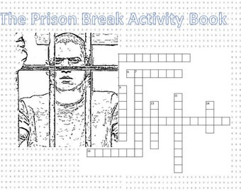 Prison Break Activity Book
