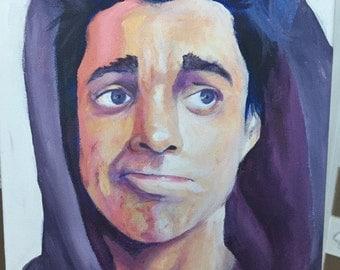 """11x13.5 Original Portrait """"Ethan"""""""