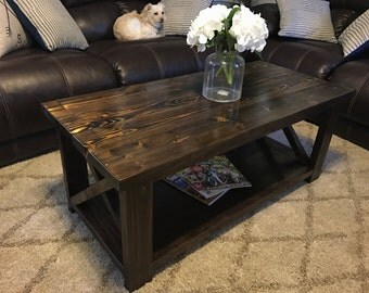 Small Barn House Coffee Table