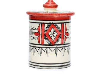 Atlas Storage Pot, Red