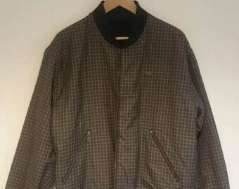 Lacoste jacket reversible vintage