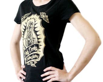 HOLY DERBY Black T-Shirt or White woman - Women