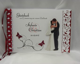 Guestbook for wedding No. G006
