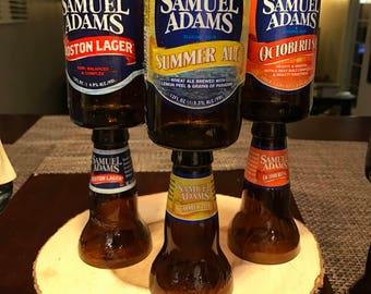 Sam Adams tall candle