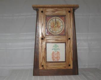 Mission mantel clock