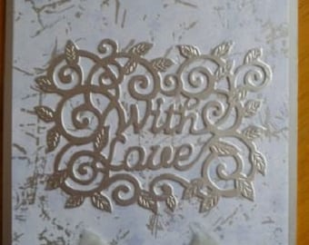 With Love in Silver 7x5 - 277