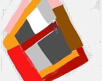 Art Book contemporary geometric digital prints #7