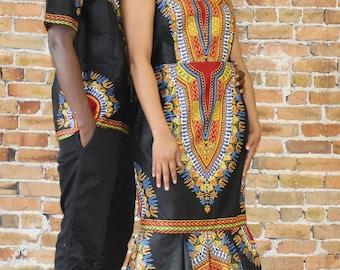 Dashiki Couple Set