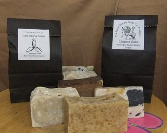 Chimera and Man Strong Soaps