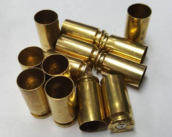 40 S&W (200) Cleaned and unprocessed brass casings for reloading, Art projects, crafts, jewelry or any other uses