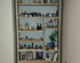 Scaffold Bookcase, Shelving unit, display unit, DVD CD