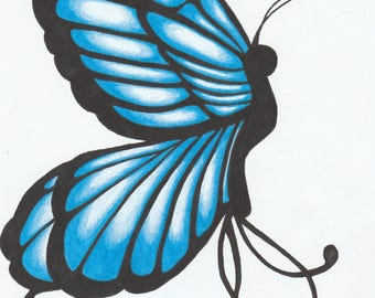Blue Butterfly Download