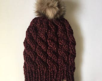 Cable Knit Toque