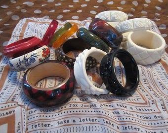 Lot of Assorted Bangle Bracelets
