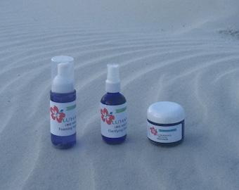 Lavender Lemon Love Your Face Trio Set with Essential oils