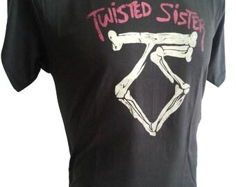 TWISTED SISTERS Rock T-SHIRT black R-074