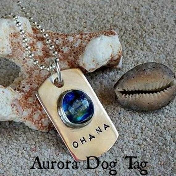 Memorial Dog Tag Romeo Pendant