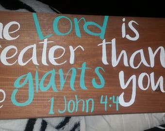 The Lord is greater