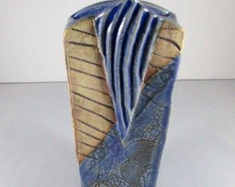 Clay Pottery, Clay Vase, Clay Pottery Vase, Pottery Vase, Glazed Vase, Glazed Pottery, Handmade Vase, Handmade Pottery, Signed Pottery