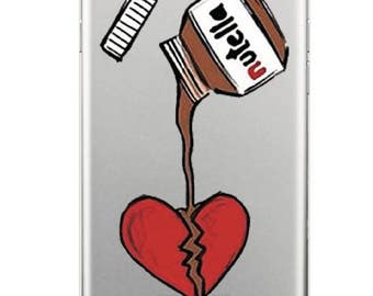 Nutella Love Iphone and Samsung Galaxy Phone Case