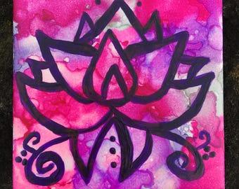 Lotus (Pink and Purple)