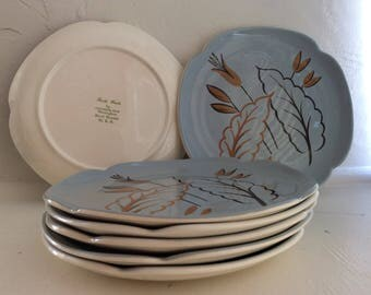 Trade Winds Collectable plates made by Continental Kiln Pottery