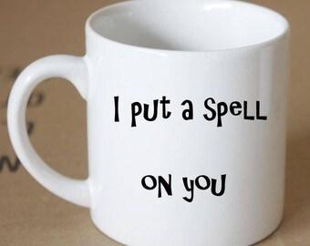 Cute Witch Spell Coffee Mug