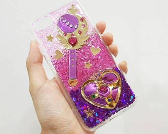 Sailor Moon case for iphone 6/6 plus/7/7 plus/samsung galaxy s6/s6e/s7/s7e/s8/s8plus/note 4/note 5/A9/J7/oppo/vivo/zenfone/huawei ETC.