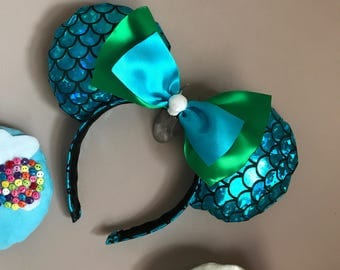 Disney Inspired My Ears Boutique Little Mermaid Themed
