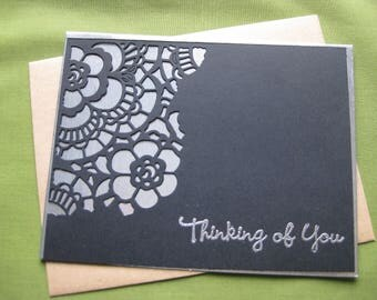 Handmade Sympathy Card - Thinking of You