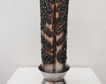 "Lauaʻe Hawaiian Luau Torch Table-Topper - ""Lighting the night with Aloha!"""