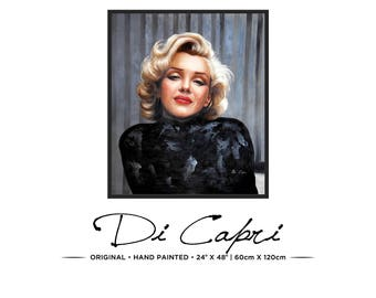 Marilyn Monroe | Original Oil Painting On Canvas | Modern Art | 04