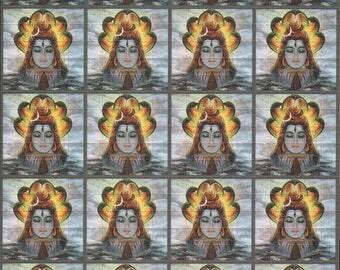 """Blotter art """"Shiva grey"""" 500 hit's"""