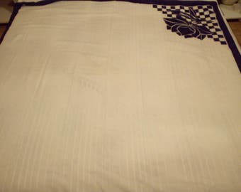 Beautiful square in cotton, 140 x 140