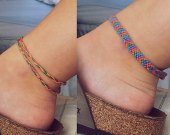 Wrap Around Braided Anklet