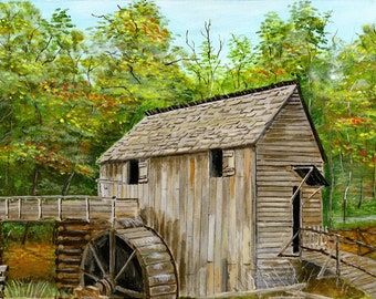 Cable Mill Cades Cove 8 x 10