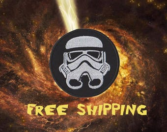 Stormtrooper Star Wars Patch Iron on Patches Embroidery Patch Applique