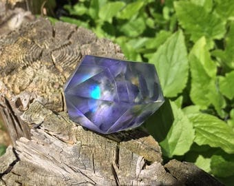 Opal Triple Hyacinth Frosted Crystal