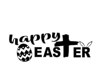 Happy Easter SVG DIGITAL file