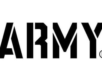 Army SVG Digital File