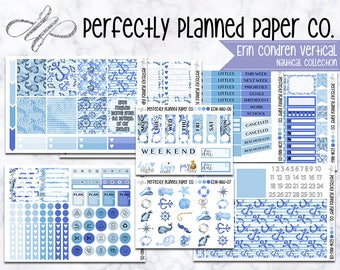Nautical Collection  // A La Carte // Erin Condren Vertical  and Happy Planner Classic [016]